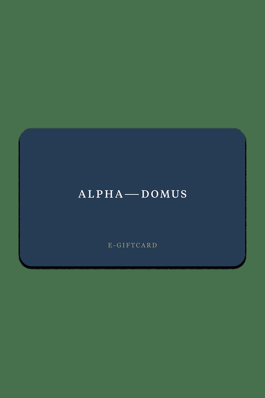 Alpha Domus Egift
